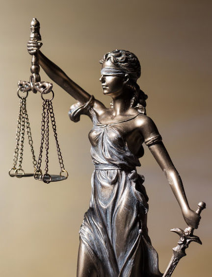 Lady Justice for Immigration Law